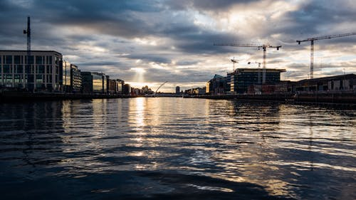 Photo of River With Sunbeam
