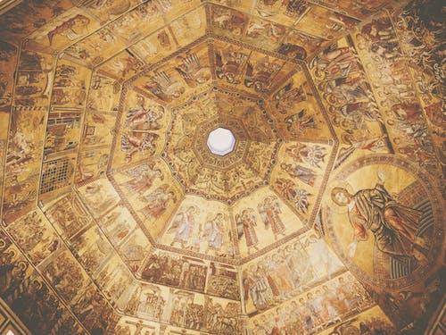 Fotos de stock gratuitas de bóveda, dorado, iconos, Iglesia