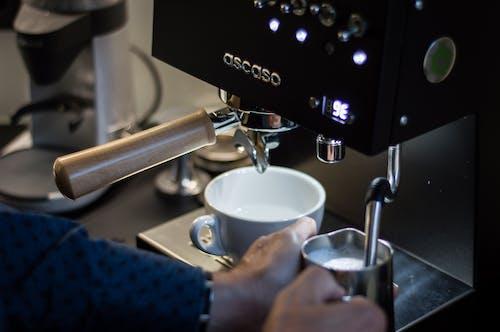 Darmowe zdjęcie z galerii z biznes, cappuccino, drink, ekspres do kawy