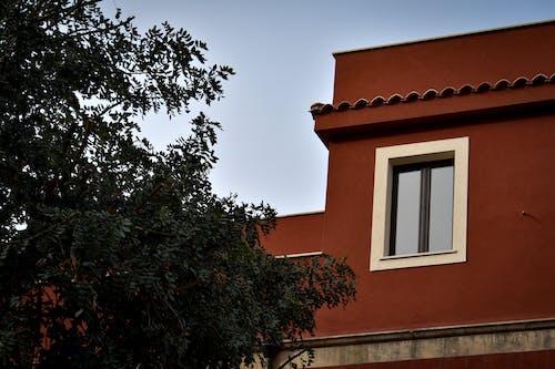 Gratis arkivbilde med geometrisk, hus, rød