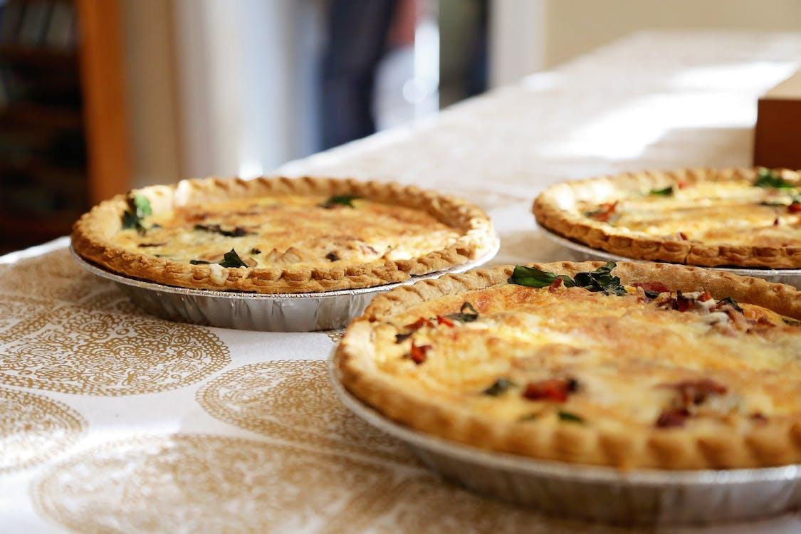 Three Round Pies