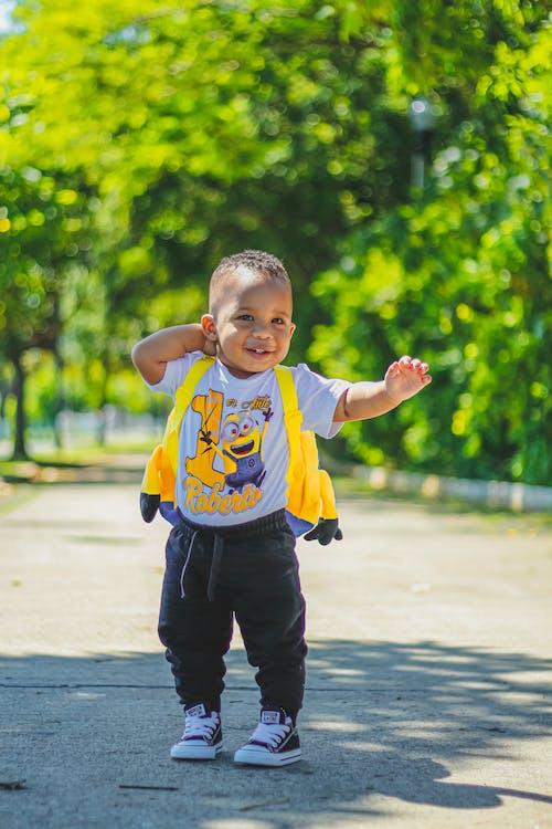 Photo Of Toddler Wearing Minion Shirt