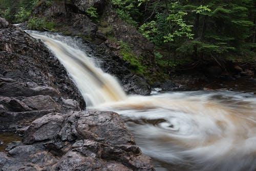 Free stock photo of swirl, waterfall
