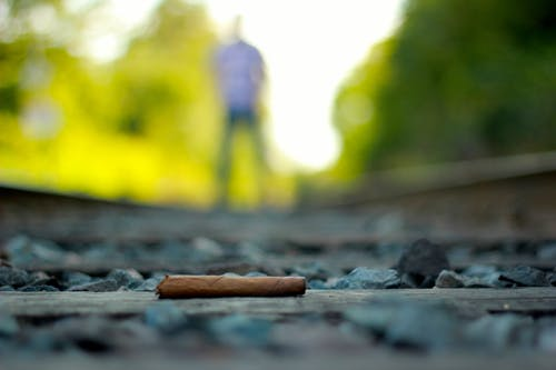 Free stock photo of cigar, creative, outdoors, rock