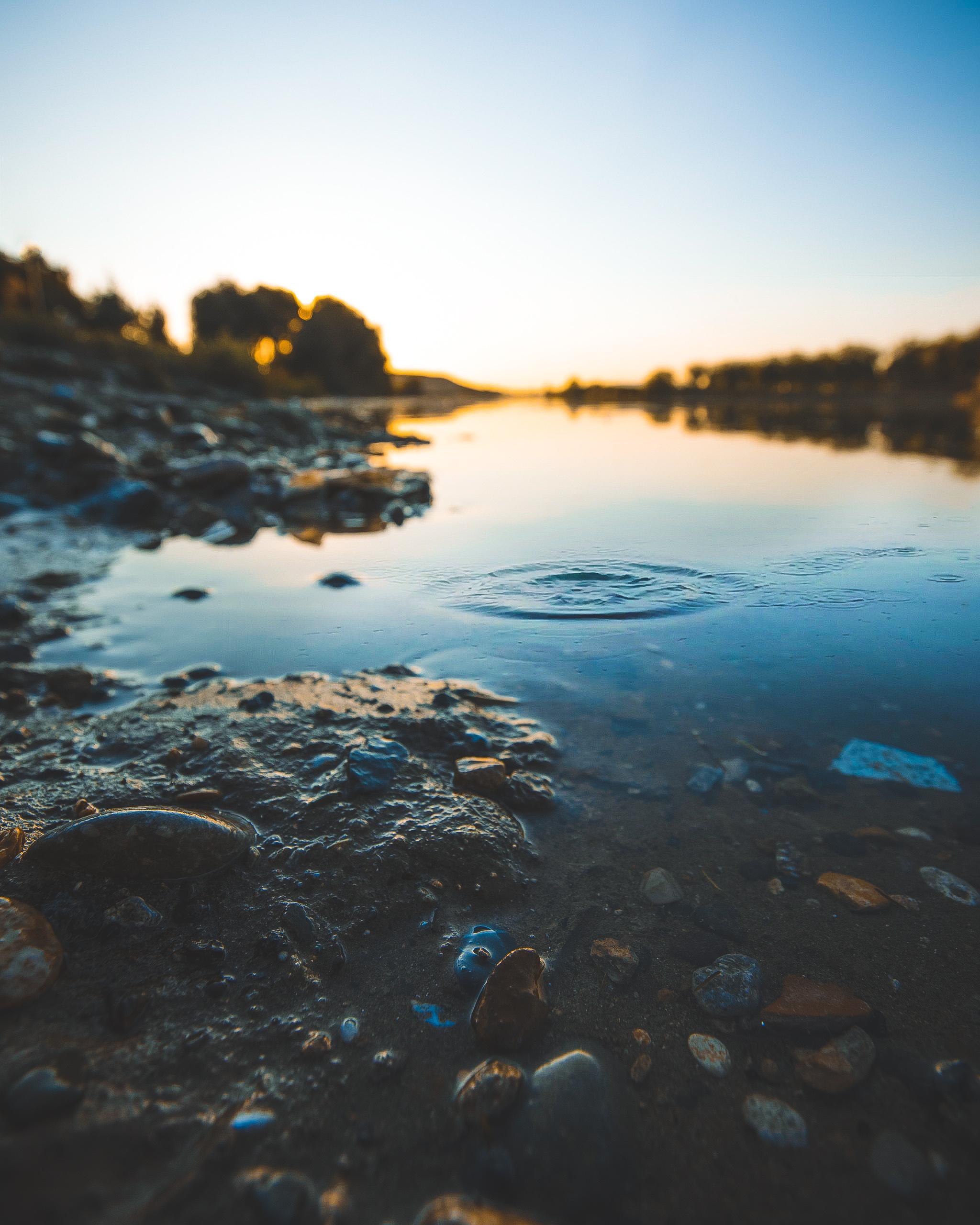 Photo Of Stones In Water