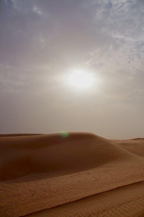 두바이, 사막의 무료 스톡 사진