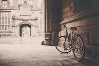 building, vintage, bike