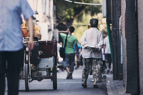 Imagine de stoc gratuită din asiatici, caldarâm, căruță, China