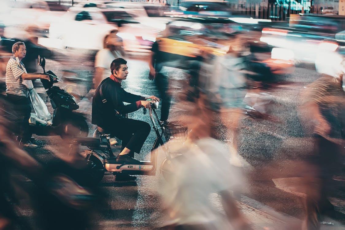 교통, 교통체계, 군중