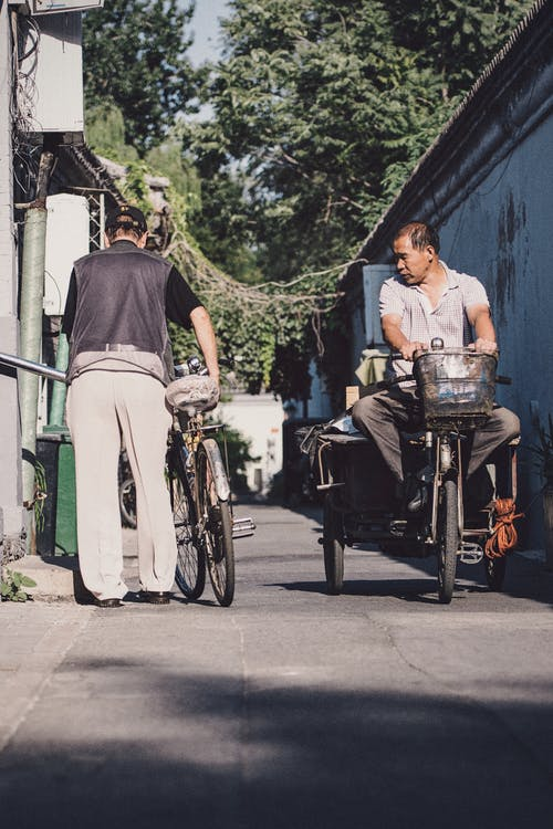 Imagine de stoc gratuită din adult, asiatici, bărbați, bicicletă