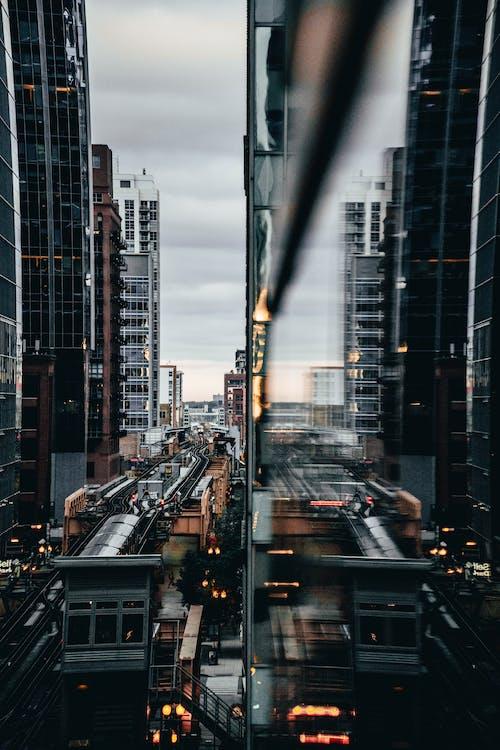 คลังภาพถ่ายฟรี ของ il, กระจก, กลางแจ้ง, การจราจร