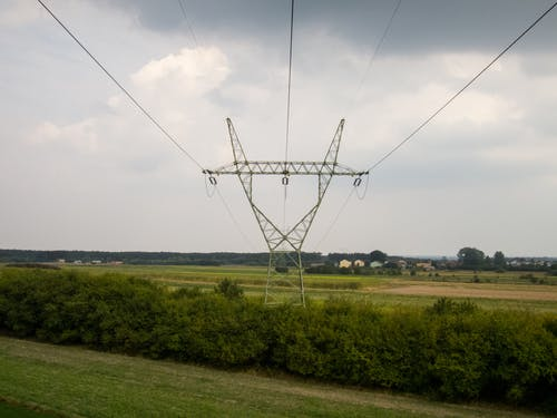 Free stock photo of construction, electricity, electricity pylon