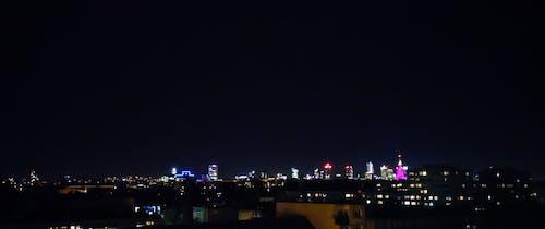 Gratis lagerfoto af aften, belyst, by, byens lys