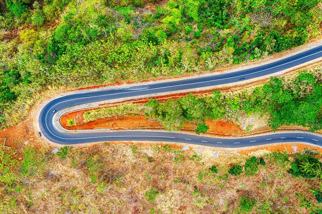 asfalt, autá, cesta
