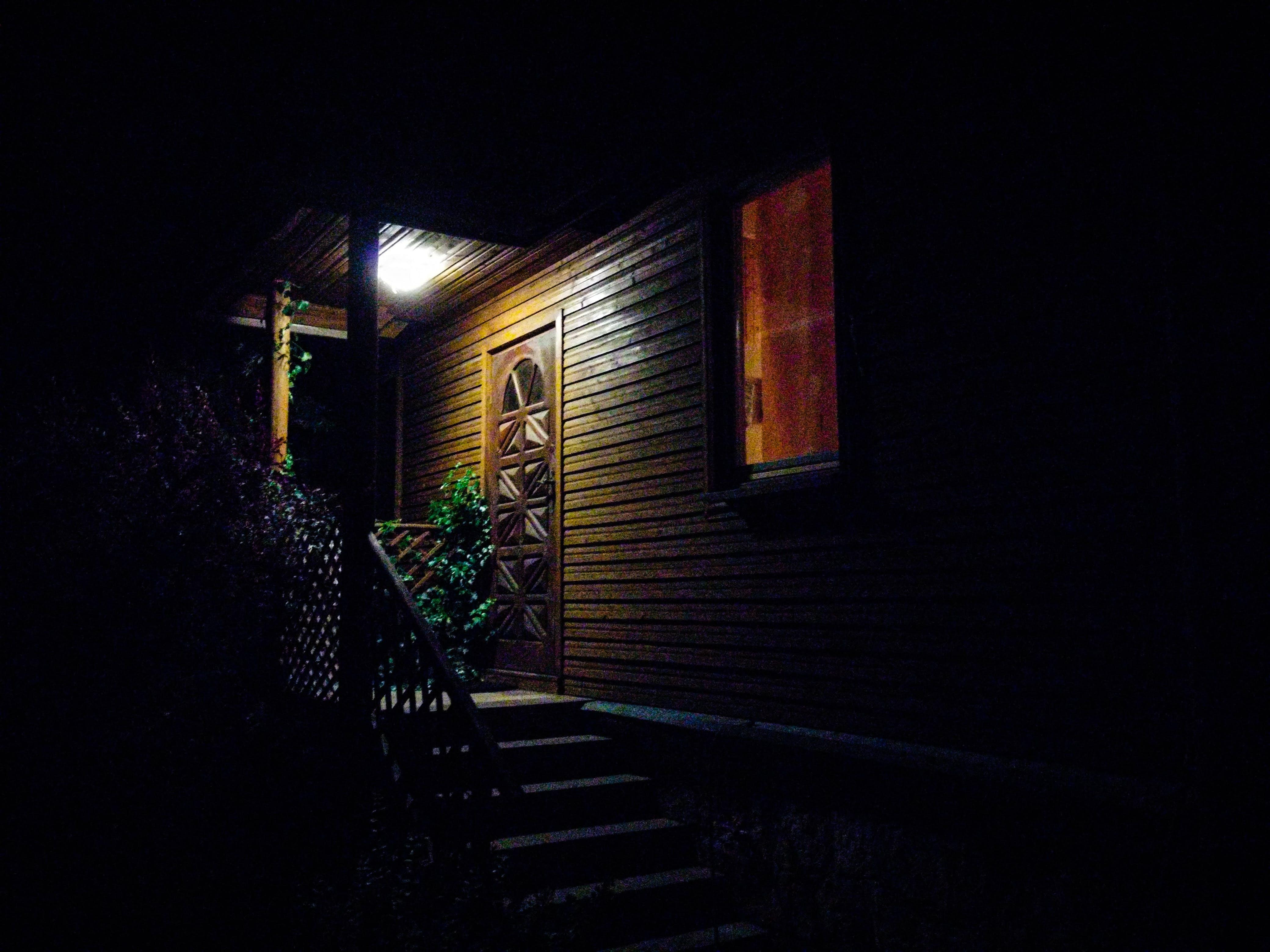 Free stock photo of stairs, light, night, house