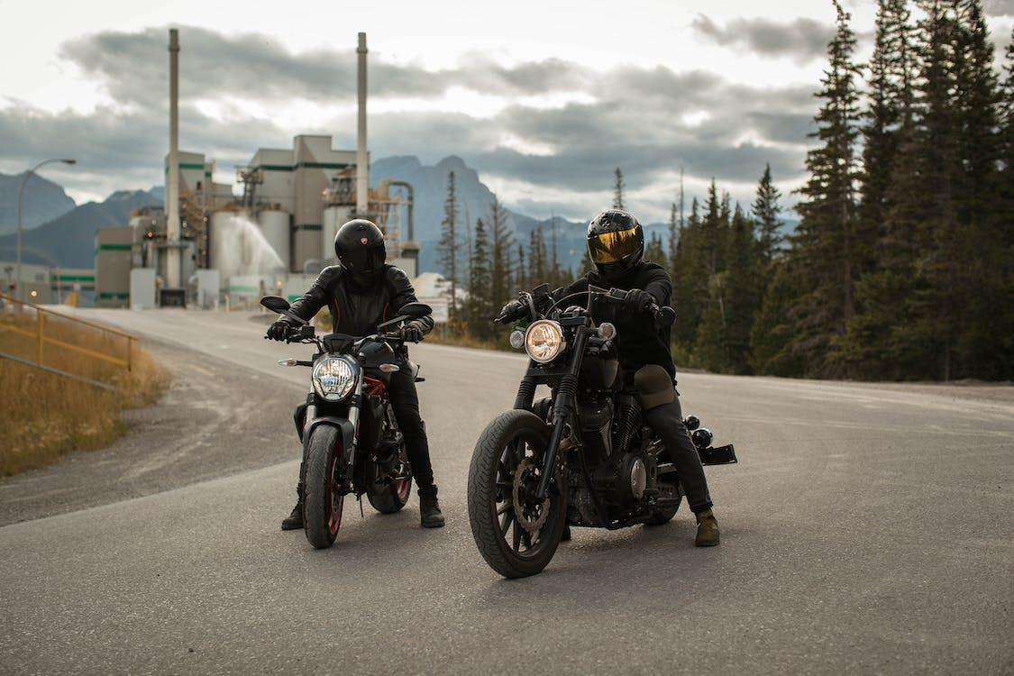 Men Riding Motorcycles