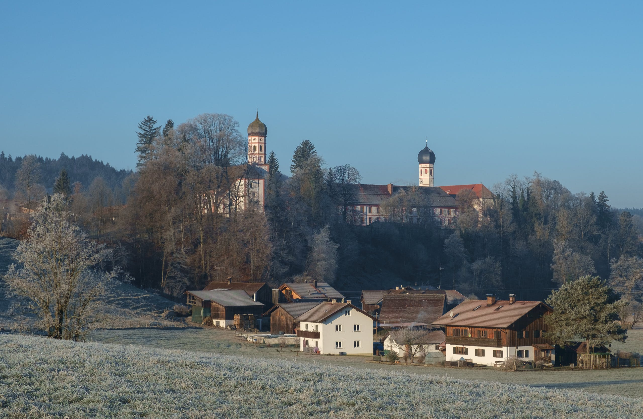 Free stock photo of Bavaria, Beuerberg, Monastry