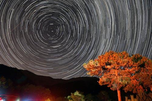 Gratis lagerfoto af 4k-baggrund, aften, astro, astrofotografering