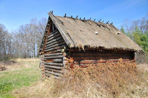 Free stock photo of beam, hut, Olddays house, wood