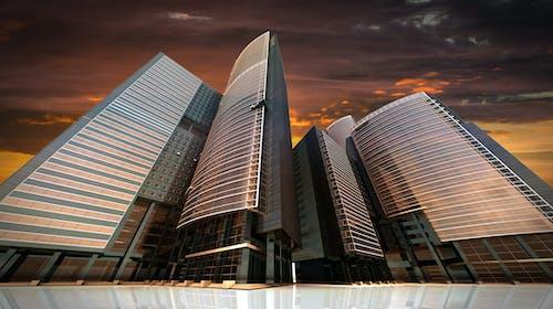 Základová fotografie zdarma na téma architektura, budova, perspektiva, společnost