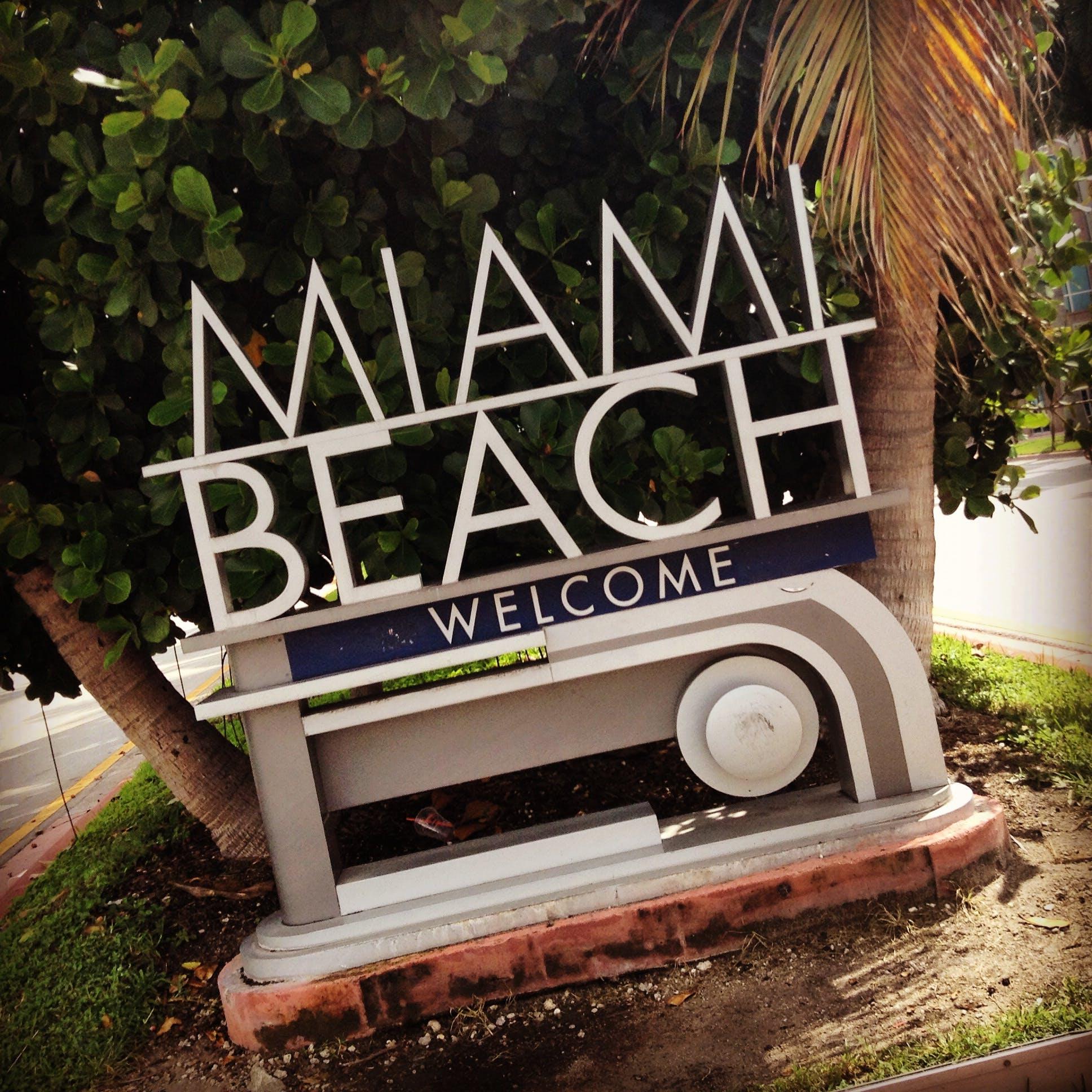Free stock photo of beach, Miami Beach, traveling, united states of america