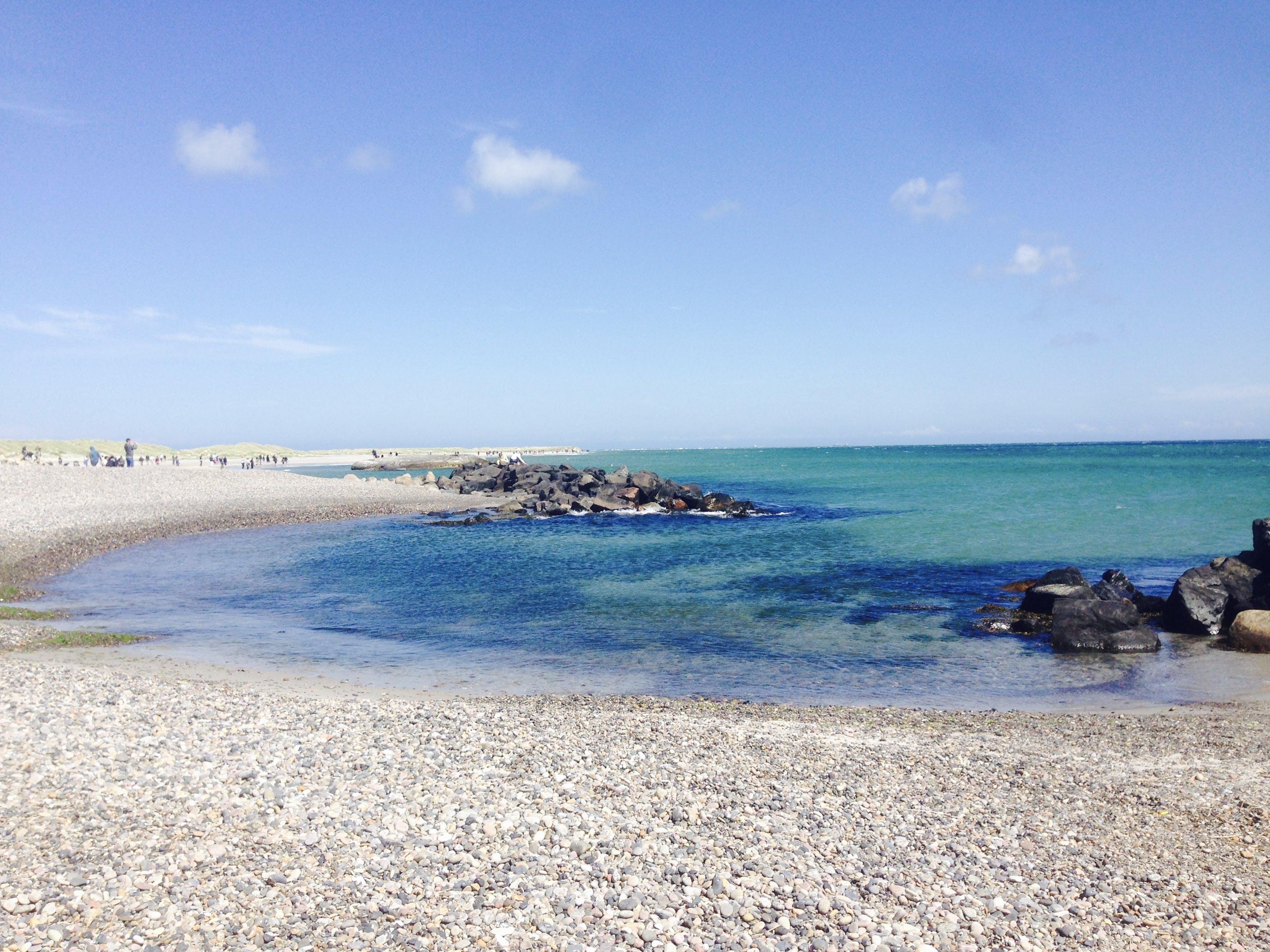 Free stock photo of Baltic Sea, beach, blue sky, by the sea