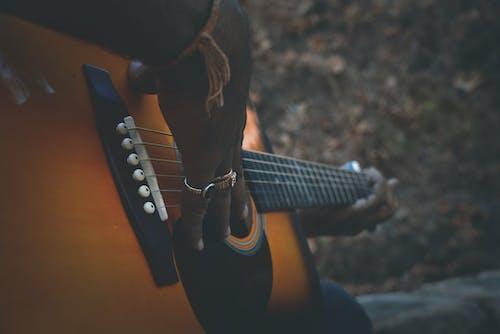 Free stock photo of guitar
