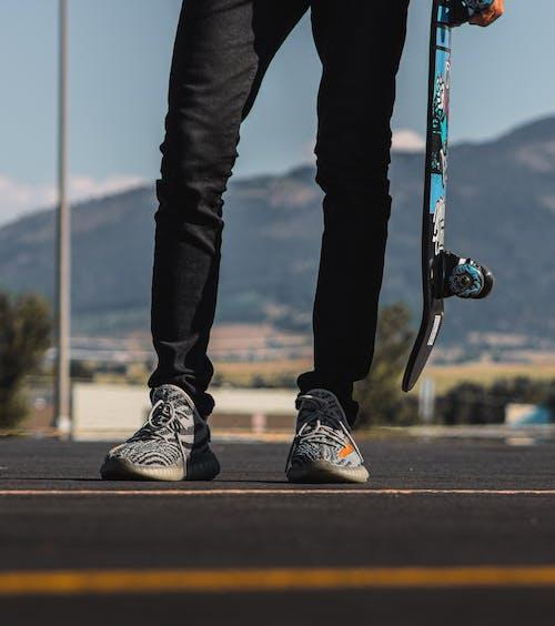 Free stock photo of adidas, dark, fashion, moody