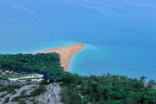 Foto d'estoc gratuïta de bonic paisatge, illa, mar adriàtic, platja