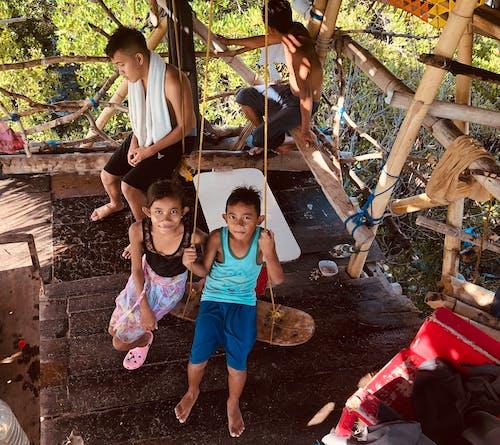 Free stock photo of asian children