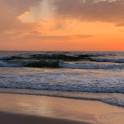Бесплатное стоковое фото с goldensky, Балтийское море, вид, вода