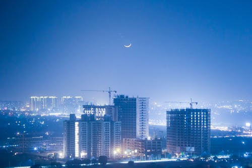 傍晚的天空, 印度, 商業, 城市 的 免費圖庫相片