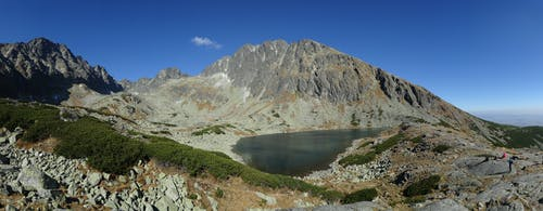 Lake On Top Of The Mountain