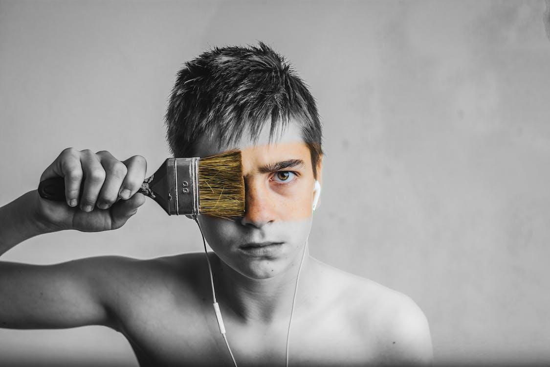 Kostenloses Stock Foto zu augen, erwachsener, fotoshooting