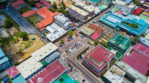 Photos gratuites de capitale, dji, drone