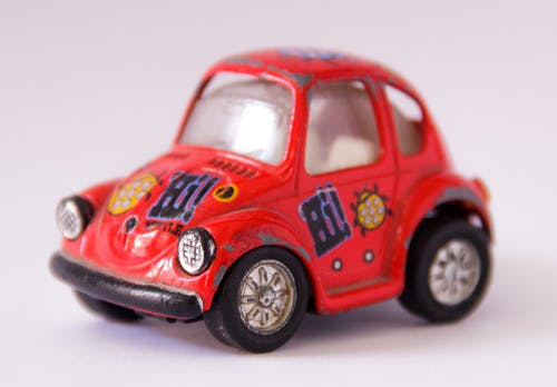 微型, 模型車, 玩具, 紅色 的 免费素材图片