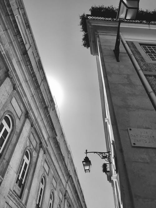 Ảnh lưu trữ miễn phí về ánh sáng, đen và trắng, Lisbon, thành phố của tôi