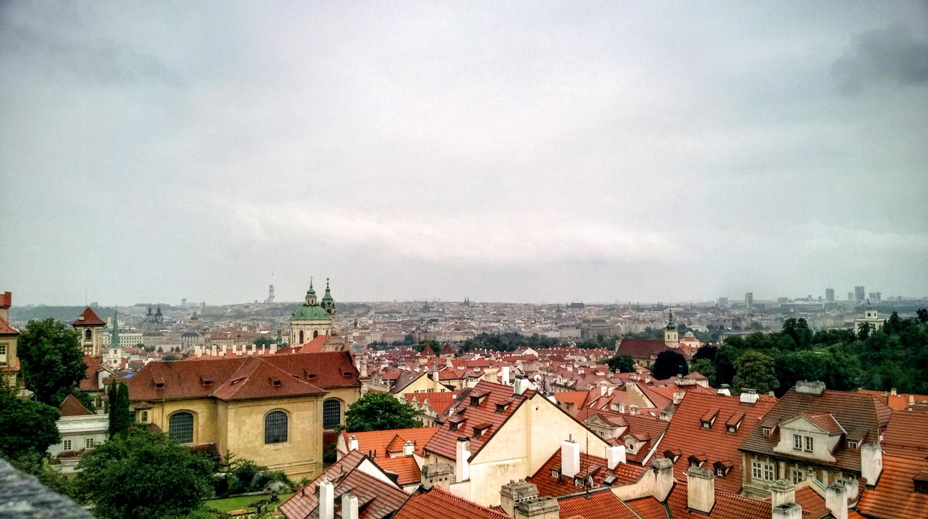 Free stock photo of city, panorama, praha, tower