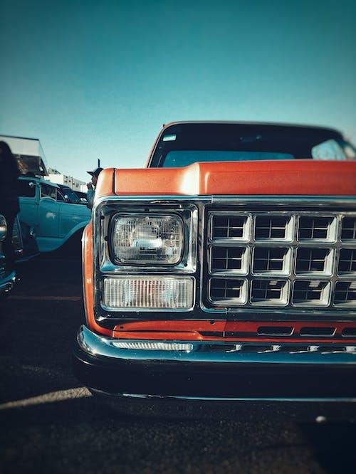 Photos gratuites de camion, capot, chrome, classique
