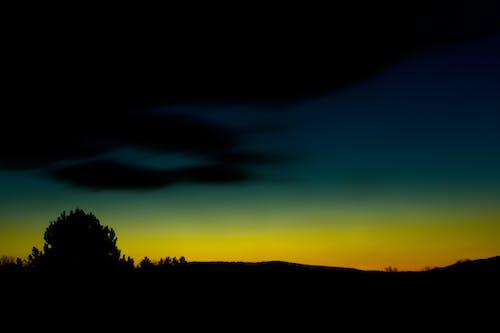 Foto profissional grátis de alvorecer, crepúsculo, escuro, nascer do sol