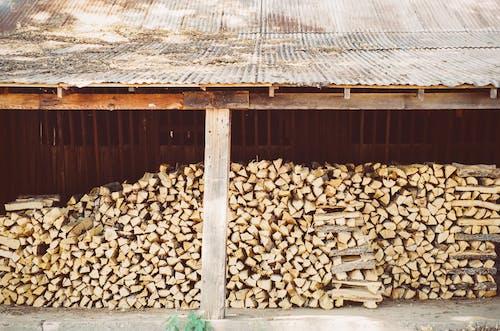 Darmowe zdjęcie z galerii z drewno, stos, ułożony w stos