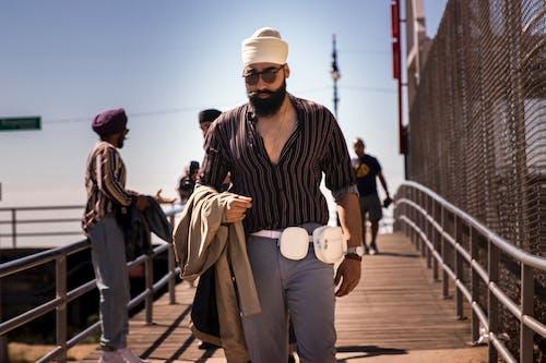 Foto profissional grátis de andando, ao ar livre, casual, coney island