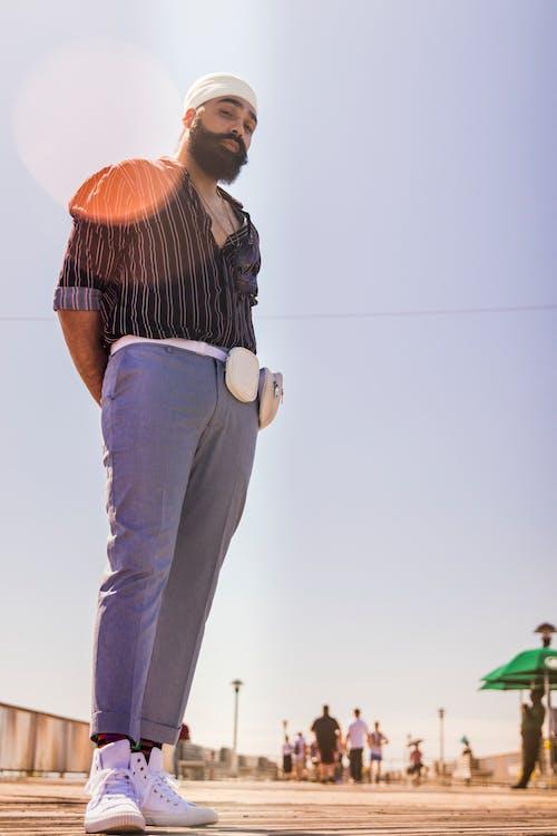 Foto profissional grátis de ao ar livre, cara, casual, coney island
