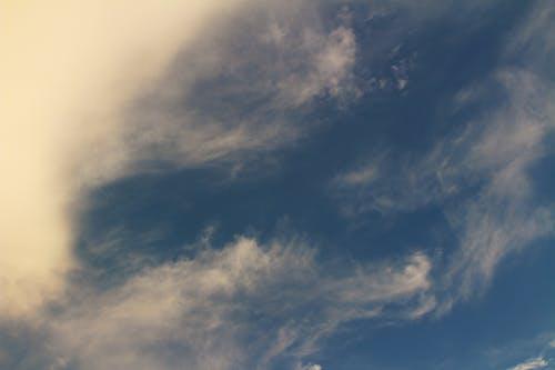 Fotobanka sbezplatnými fotkami na tému mávať, modrá a červená, mrak, výhľad na oblaky