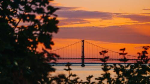 Gratis stockfoto met dageraad, Golden Gate Bridge, golden gate brug, gouden uur