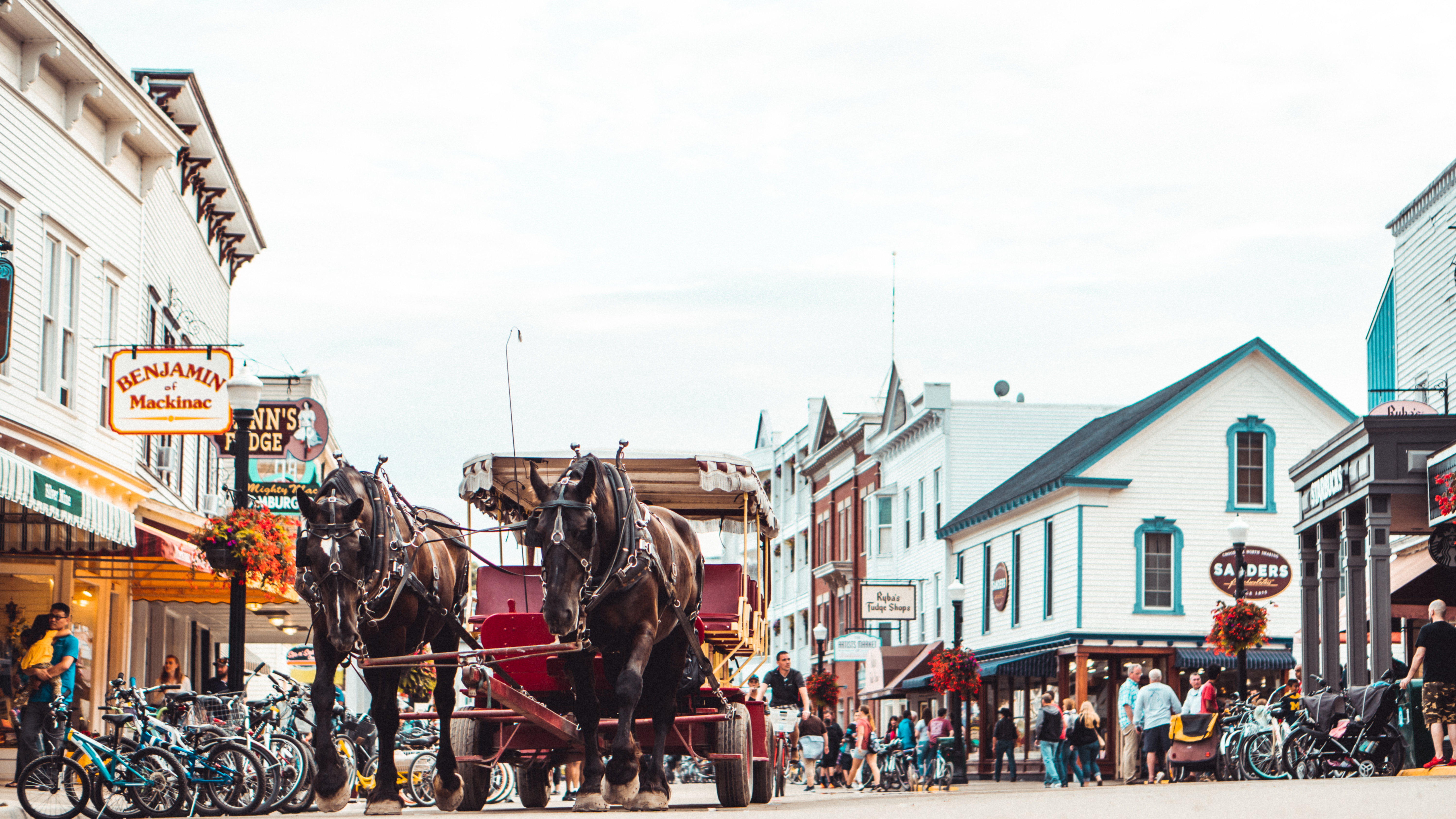 Photo Of A Carriage In The Middle Of The Street