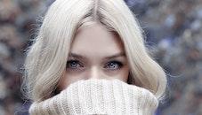 cold, fashion, woman