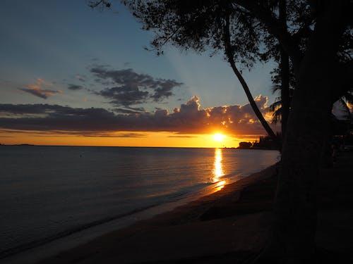 Free stock photo of beach, beautiful, Beautiful sunset, dream
