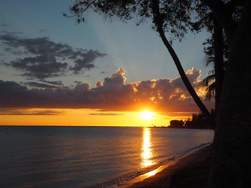 Free stock photo of beautiful, Beautiful sunset, clouds, gold