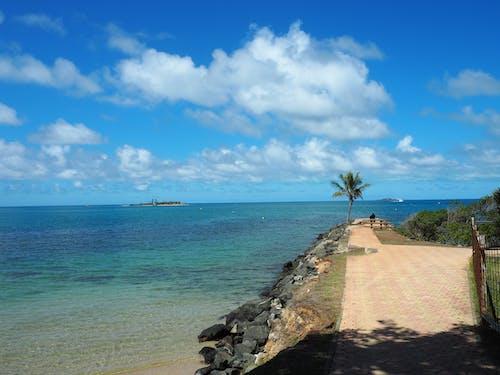 Free stock photo of beach, beauty, blue, blue sky